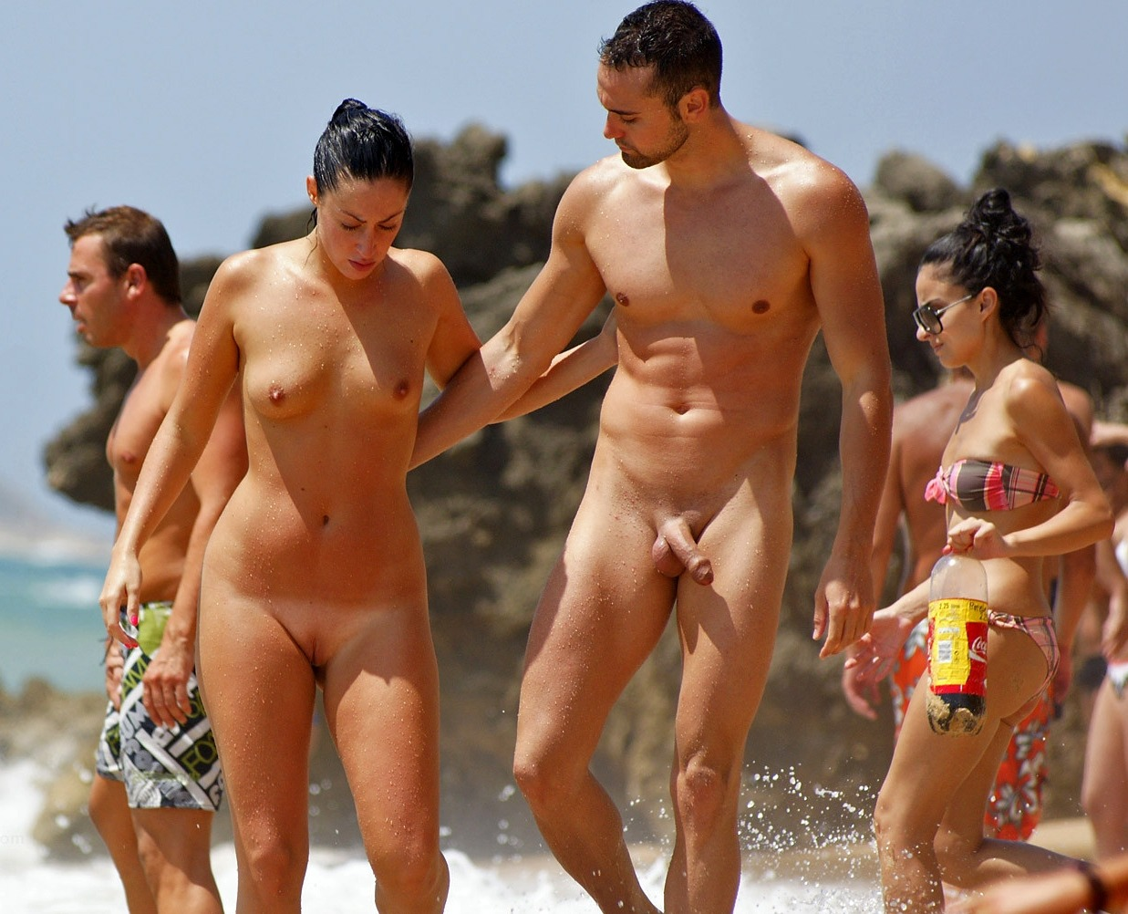 Locals upset over three nudist beach signs outside dalkey south dublin